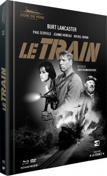 Le Train - Jaquette Blu-ray