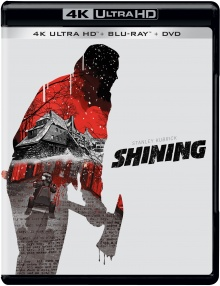 Shining (1980) de Stanley Kubrick - Packshot Blu-ray 4K Ultra HD + Blu-ray 2D