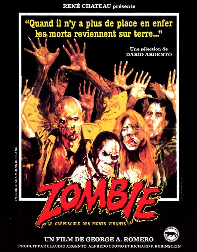 Zombie (Romero) - Affiche 1983