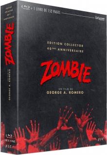 Zombie - Jaquette Coffret Blu-ray ESC