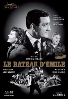 Le Bateau d'Émile - Jaquette Blu-ray