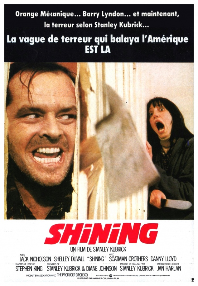 Shining - Affiche France 1980