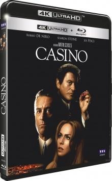 Casino (1995) de Martin Scorsese - Packshot Blu-ray 4K Ultra HD