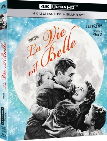 La vie est belle (1946) de Frank Capra - Packshot Blu-ray 4K Ultra HD