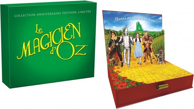 Le Magicien d'Oz (1939) de Victor Fleming - Collection anniversaire édition limitée - Packshot Blu-ray 4K Ultra HD