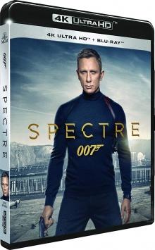 007 Spectre (2015) de Sam Mendes – Packshot Blu-ray 4K Ultra HD