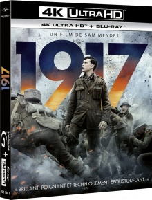 1917 (2019) de Sam Mendes – Packshot Blu-ray 4K Ultra HD