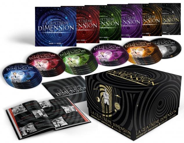 The Twilight Zone – La Quatrième Dimension – Coffret Intégrale - Packshot Blu-ray