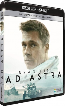 Ad Astra (2019) de James Gray - Packshot Blu-ray 4K Ultra HD