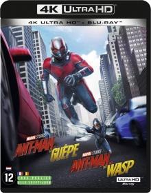 Ant-Man et la Guêpe (2018) de Peyton Reed - Packshot Blu-ray 4K Ultra HD
