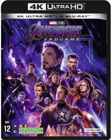 Avengers : Endgame (2019) de Anthony Russo & Joe Russo - Packshot Blu-ray 4K Ultra HD