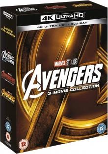 Avengers : La Trilogie - Packshot Blu-ray 4K Ultra HD