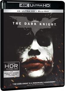 Batman - The Dark Knight, le Chevalier Noir (2008) de Christopher Nolan - Packshot Blu-ray 4K Ultra HD