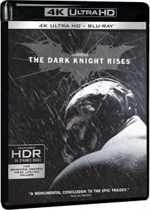Batman - The Dark Knight Rises (2012) de Christopher Nolan - Packshot Blu-ray 4K Ultra HD