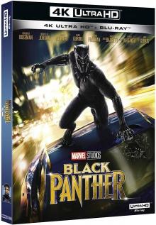Black Panther (2018) de Ryan Coogler - Packshot Blu-ray 4K Ultra HD