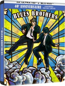 The Blues Brothers (1980) de John Landis - Édition SteelBook 40ème Anniversaire - Packshot Blu-ray 4K Ultra HD