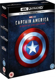 Captain America : La Trilogie - Packshot Blu-ray 4K Ultra HD