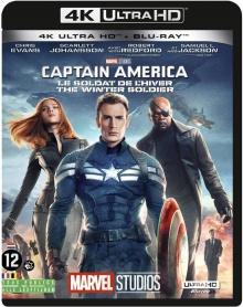 Captain America : Le soldat de l'hiver (2014) de Anthony Russo & Joe Russo - Packshot Blu-ray 4K Ultra HD
