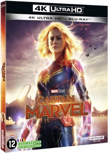Captain Marvel (2019) de Anna Boden & Ryan Fleck - Packshot Blu-ray 4K Ultra HD