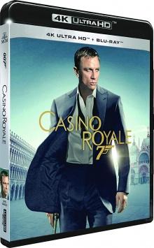 Casino Royale (2006) de Martin Campbell – Packshot Blu-ray 4K Ultra HD