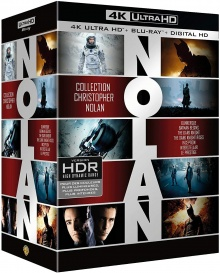Christopher Nolan - Collection 7 Films - Packshot Blu-ray 4K Ultra HD