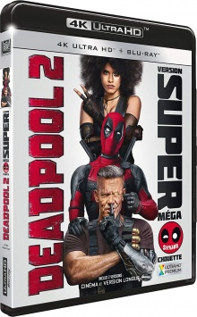 Deadpool 2 (2018) de David Leitch - Packshot Blu-ray 4K Ultra HD