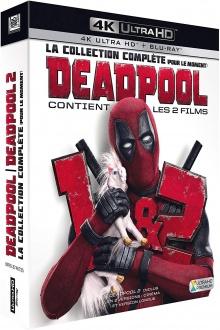 Deadpool + Deadpool 2 - Packshot Blu-ray 4K Ultra HD