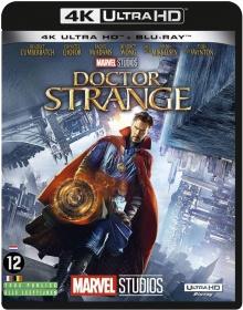 Doctor Strange (2016) de Scott Derrickson - Packshot Blu-ray 4K Ultra HD