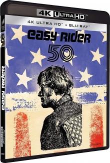 Easy Rider (1969) de Dennis Hopper - Packshot Blu-ray 4K Ultra HD