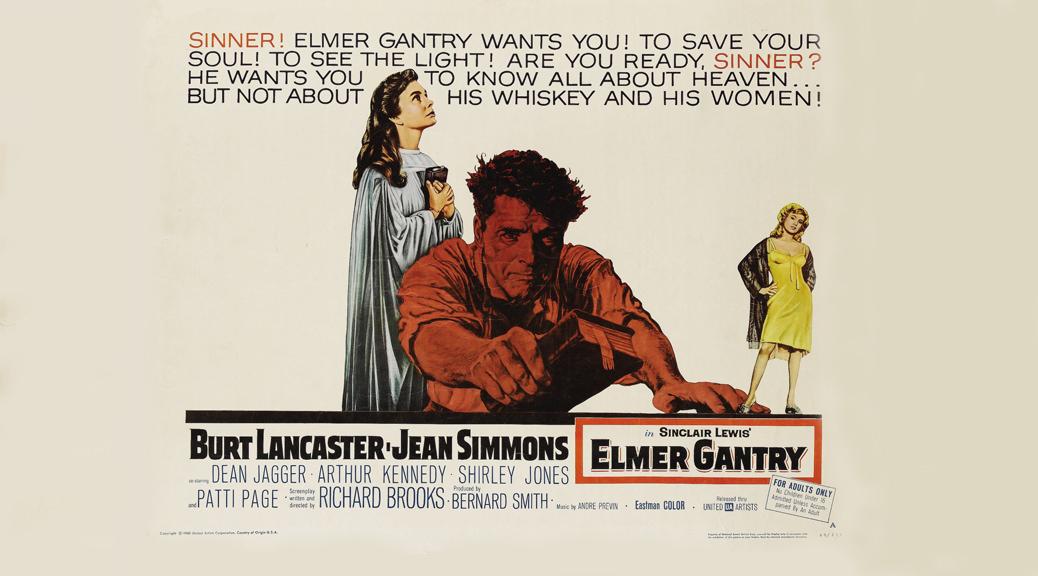 Elmer Gantry, le charlatan - Image une test BRD