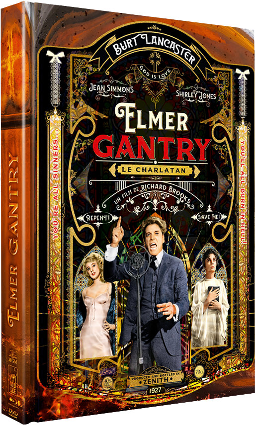 Elmer Gantry - Packshot édition collector