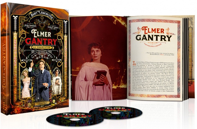 Elmer Gantry - Edition Collector Blu-ray + DVD + Livre