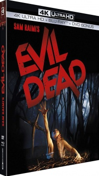 Evil Dead (1981) de Sam Raimi – Packshot Blu-ray 4K Ultra HD