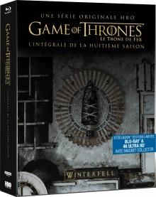 Game of Thrones : Le Trône de Fer - Saison 8 - Packshot Blu-ray 4K Ultra HD