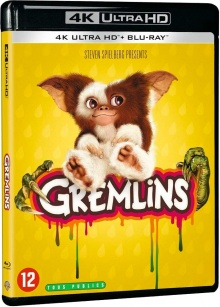 Gremlins (1984) de Joe Dante - Packshot Blu-ray 4K Ultra HD