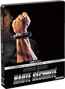 Haute sécurité (1989) de John Flynn - Édition boîtier SteelBook - Packshot Blu-ray 4K Ultra HD