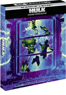 Hulk - Édition boîtier SteelBook (2003) de Ang Lee – Packshot Blu-ray 4K Ultra HD