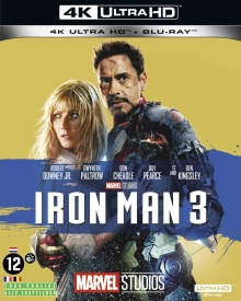 Iron Man 3 (2013) de Shane Black - Packshot Blu-ray 4K Ultra HD