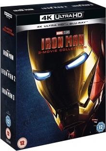 Iron Man : La Trilogie - Packshot Blu-ray 4K Ultra HD