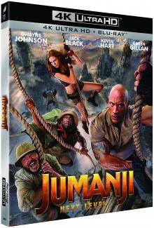 Jumanji : Next Level (2019) de Jake Kasdan – Packshot Blu-ray 4K Ultra HD