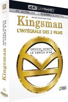 Kingsman : Coffret 1 & 2 - Packshot Blu-ray 4K Ultra HD