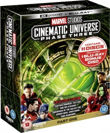 Marvel Studios Cinematic Universe: Phase Three - Part One - Packshot Blu-ray 4K Ultra HD