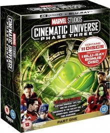 Marvel Studios Cinematic Universe: Étape 3 - Partie 1 - Pack Blu-ray Ultra HD 4K
