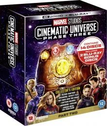 Marvel Studios Cinematic Universe: Étape 3 - Deuxième partie - Pack Blu-ray 4K Ultra HD
