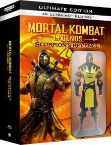 Mortal Kombat Legends : Scorpions Revenge - Ultimate Edition - Packshot Blu-ray 4K Ultra HD