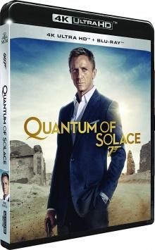 Quantum of Solace (2008) de Marc Forster – Packshot Blu-ray 4K Ultra HD
