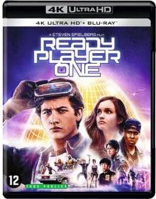 Ready Player One (2018) de Steven Spielberg - Packshot Blu-ray 4K Ultra HD