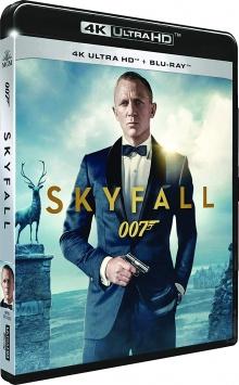 Skyfall (2012) de Sam Mendes – Packshot Blu-ray 4K Ultra HD