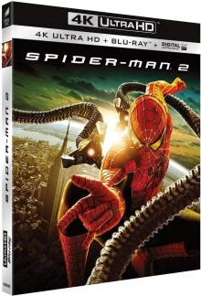 Spider-Man 2 (2004), par Sam Raimi - Packshot Blu-ray 4K Ultra HD