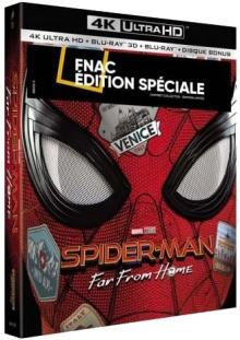 Spider-Man: loin de chez soi (2019) de Jon Watts - Fnac Steelbook Special Edition - Packshot Blu-ray Ultra HD 4K